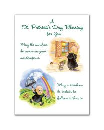 St. Patrick's Day Blessing For You Greeting Card