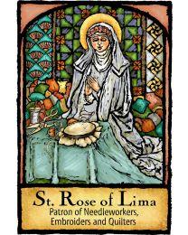 St Rose of Lima Magnet