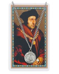 St. Thomas More Medal/Card