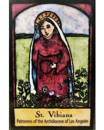 St Vibiana Magnet