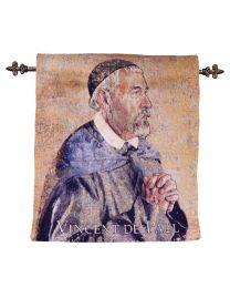 St Vincent de Paul Tapestry - Artist John Nava