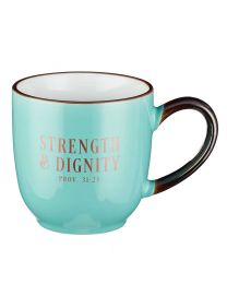 Strength and Dignity Proverbs 31:25 Coffee Mug