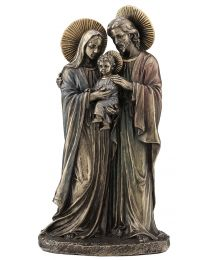 "8.6"" Holy Family - Bronze Style Statue"