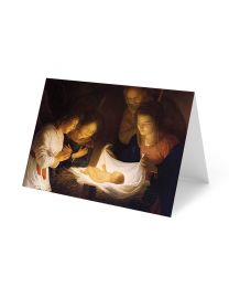 The Nativity -Honthorst- Christmas Card Pack (25 Count)
