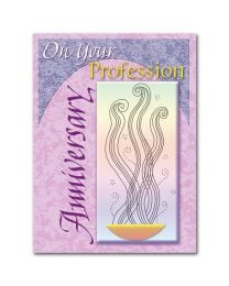 Religious Profession Anniversary Card
