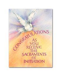 RCIA Congratulations Card