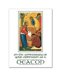 Deacon Anniversary Card