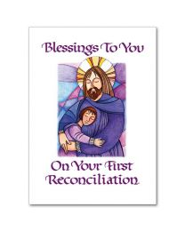 God's Forgiveness First Reconciliation Card