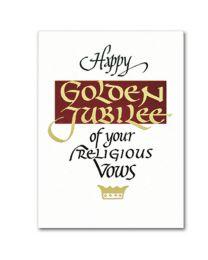 Religious Profession Anniversary Card
