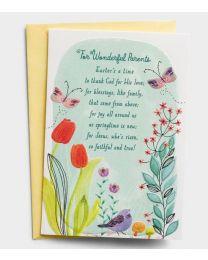 Wonderful Parents - Easter Greeting Card