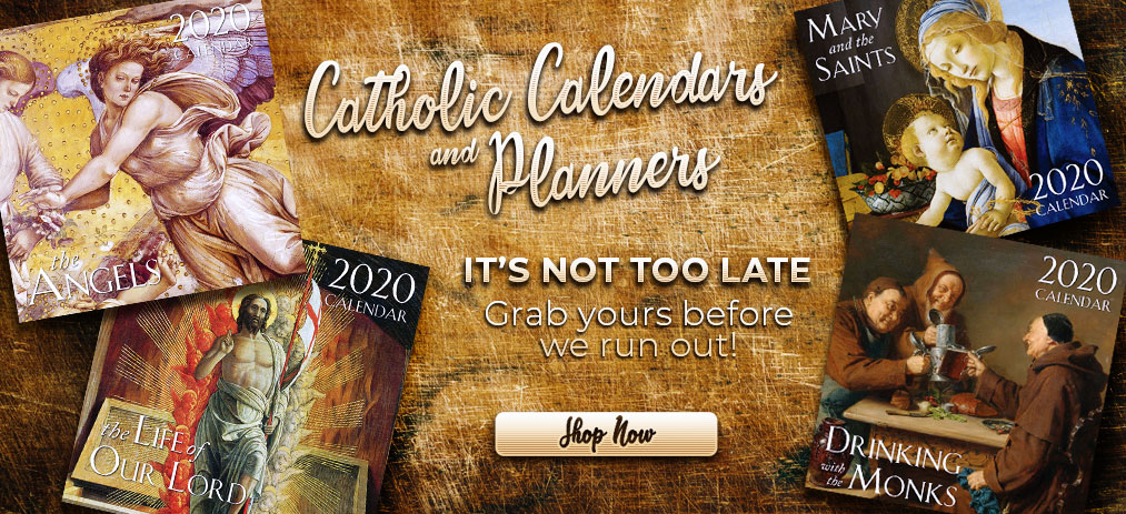 2020 Catholic Calendars